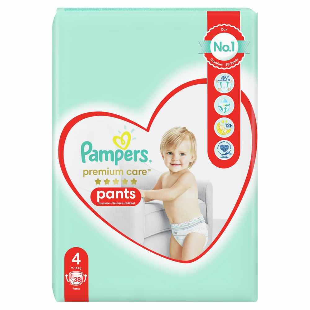 PAMPERS PREMIUM PANTS VP 4 MAXI (44)