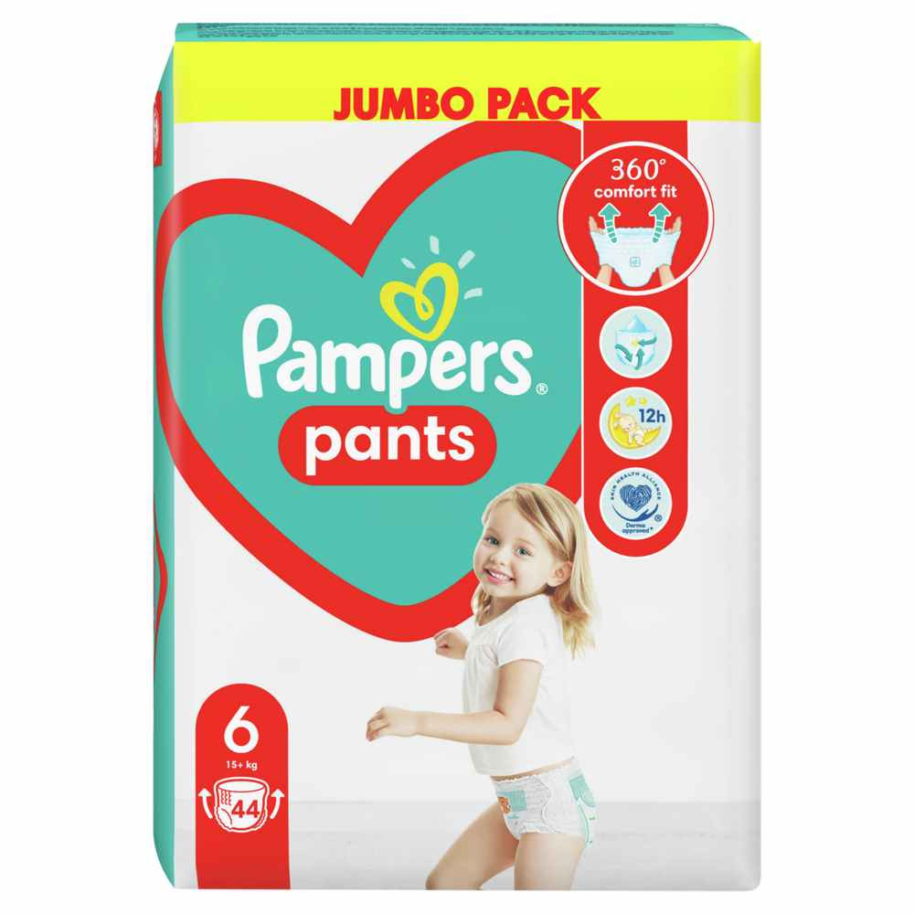 PAMPERS PANTS JP 6 EXTRA LARGE  44