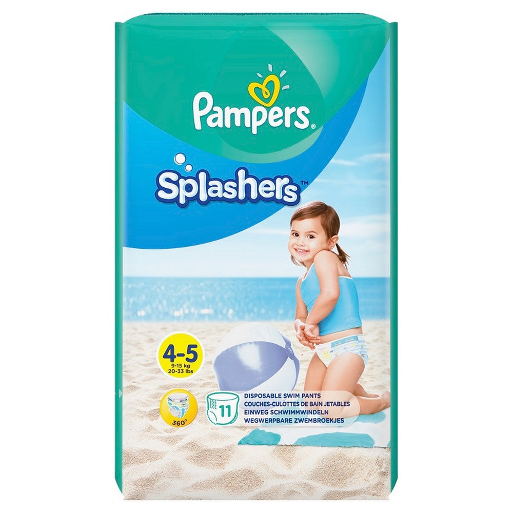 PAMPERS SPLASHERS CP 4 MAXI  11