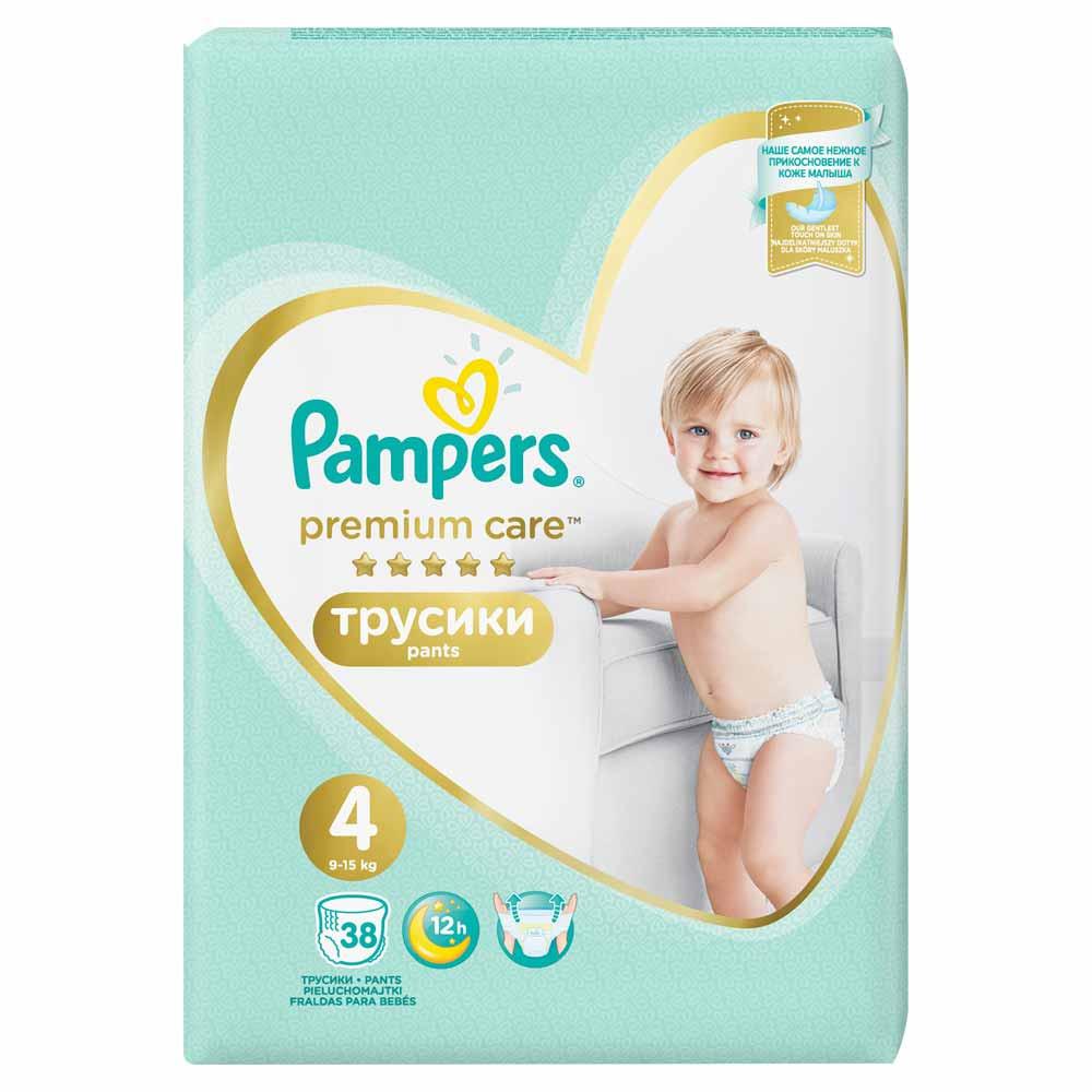 PAMPERS PREMIUM PANTS VP 4 MAXI  38