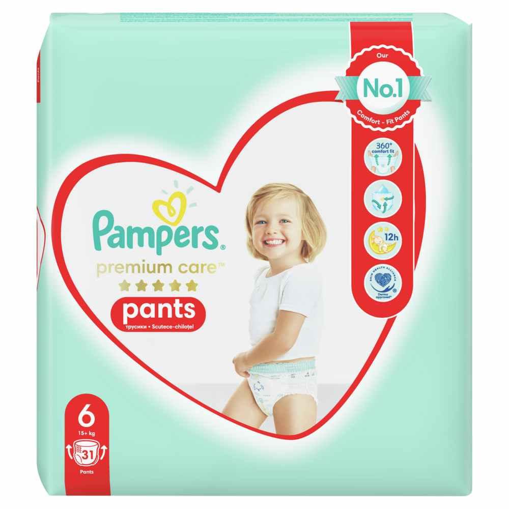 PAMPERS PREMIUM PANTS VP 6 LARGE (31)