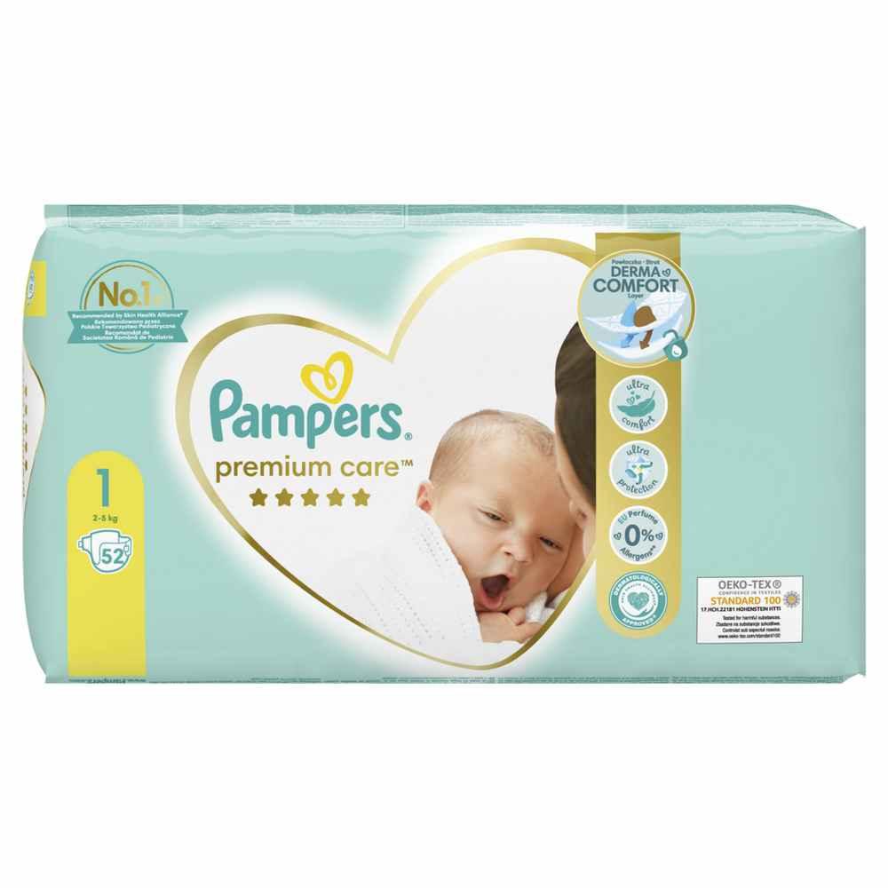 PAMPERS PREMIUM VP 1 NEWBORN (52)