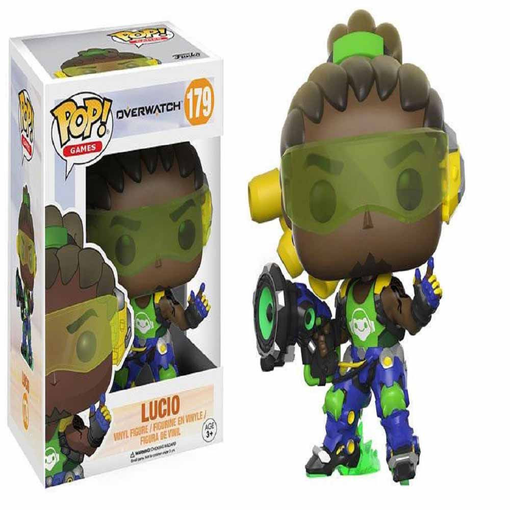 POP FIGURA OVERWATCH  GAMES VINYL FIGURE LUCIO 9 CM
