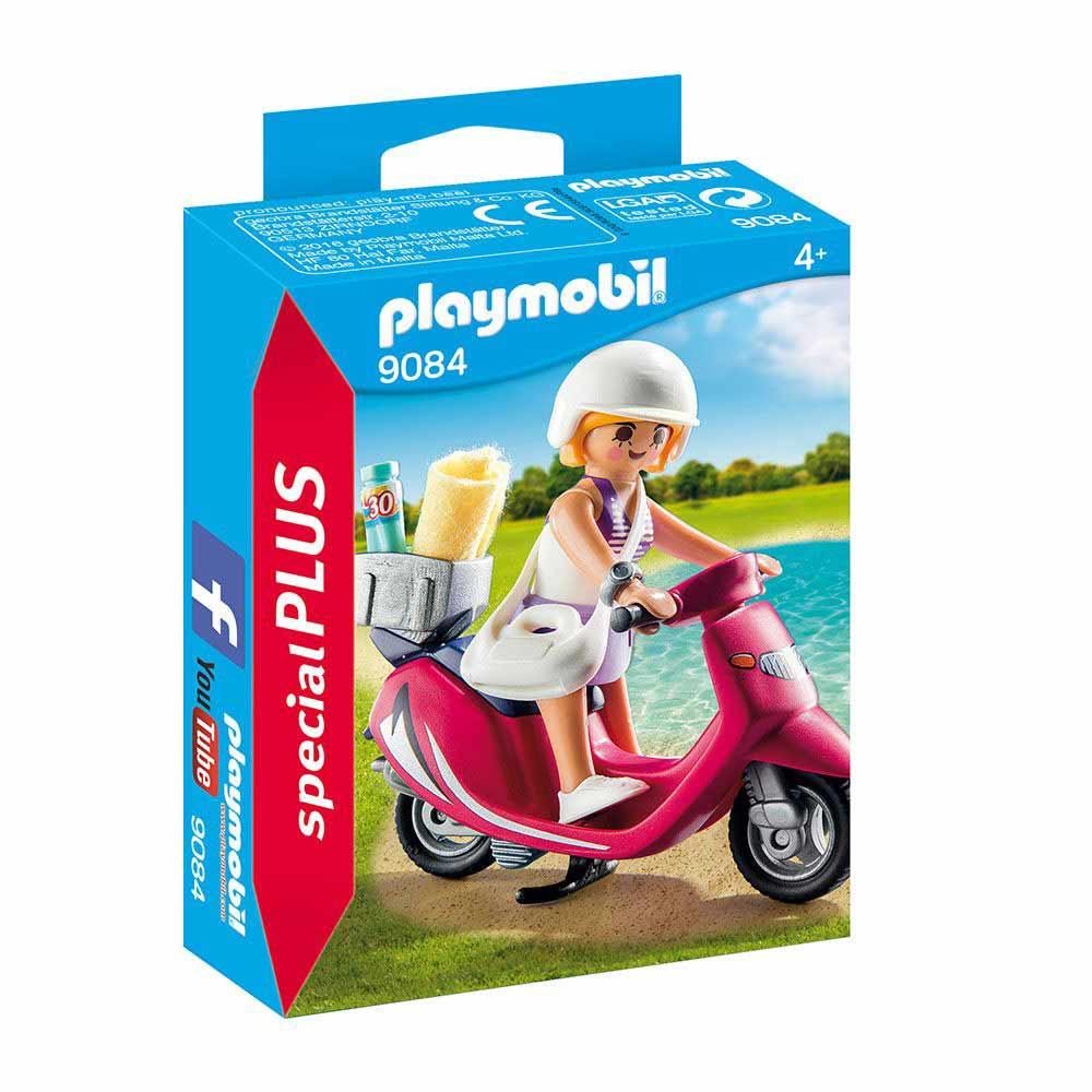 PLAYMOBIL PM-9084 TURISTA SA SKUTEROM
