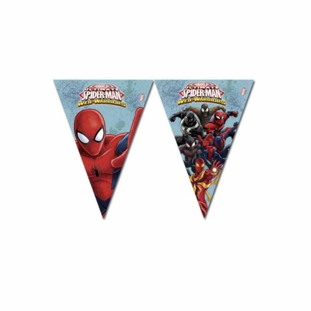 SPIDERMAN WEB WARRIORS PARTY ZASTAVE 1/1