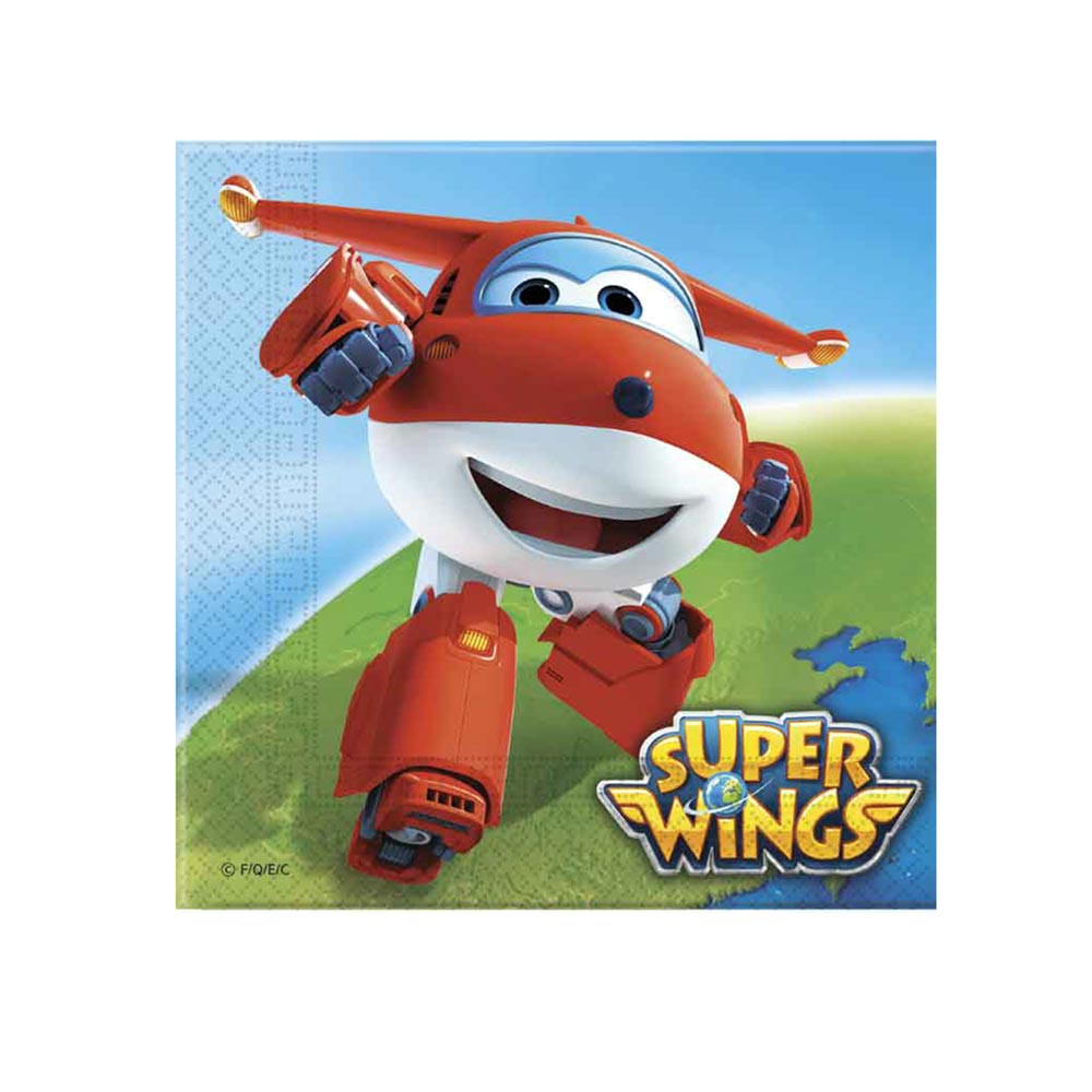 SUPER WINGS 20 SALVETA 33x33cm