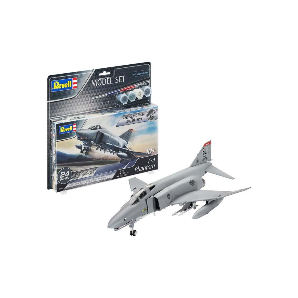 REVELL MAKETA MODEL  SET  F-4  PHANTOM