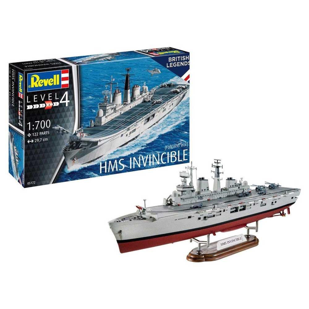 REVELL MAKETA MODEL SET HMS INVINCIBLE  FALKLA