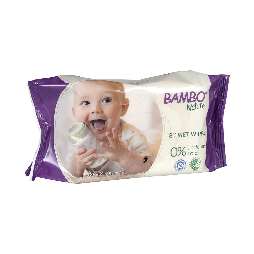 BAMBO ECO-FRIENDLY VLAZNE MARAMICE 80