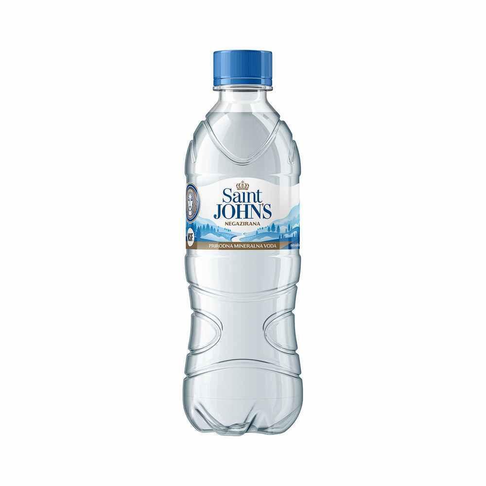 SAINT JOHNS PRIRODNA MIN. VODA NEGAZIRANA 0.5L