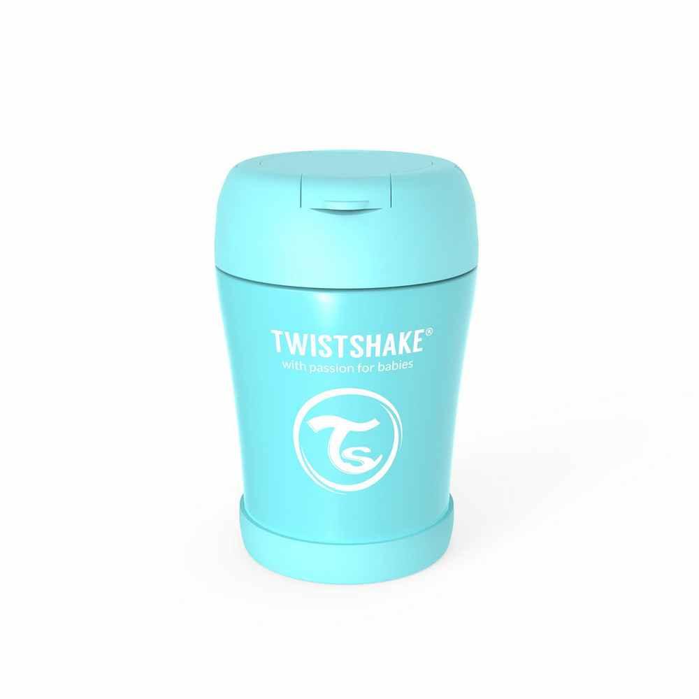 TWISTSHAKE TERMOS-POSUDA ZA HRANU 350ML PASTEL BLUE