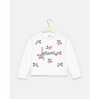 BLUKIDS DUKSERICA SWEATER BRIGHT WHITE
