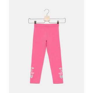 BLUKIDS HELANKE LEGGINGS SOLID HOT PINK
