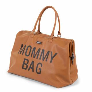 CHILDHOME MOMMY BAG BIG, RUCNA TORBA, LEATHERLOOK BROWN
