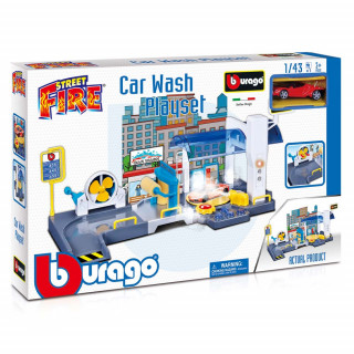 BURAGO STREET FIRE CAR PERIONICA