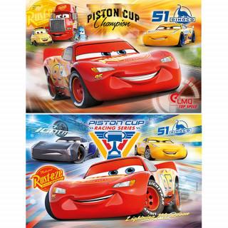 CLEMENTONI PUZZLE 2X20 CARS 3