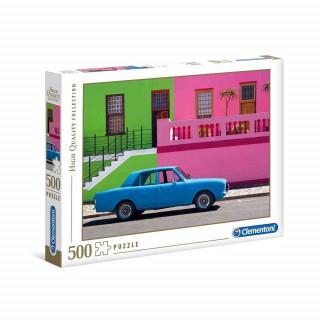 CLEMENTONI PUZZLE 500 HQC THE BLUE CAR =2020=