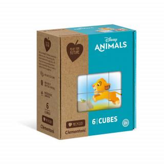 CLEMENTONI CUBI 6 PFF - DISNEY ANIMAL FRIENDS