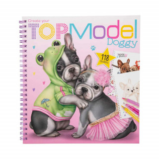 TOP MODEL PUPPY STIKER BOJANKA