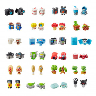 TRANSFORMERS BOTBOTS SET 8 KOM