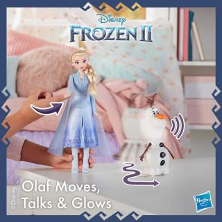 FROZEN 2 OLAF ELSA TALK & GLOW FIGURE