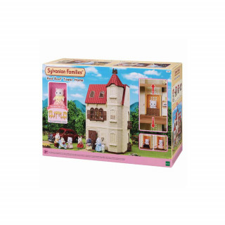 SYLVANIAN RED ROOF TOWER HOME