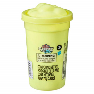 PLAY-DOH SLIME FEATHERY FLUFF MEGA CAN AST