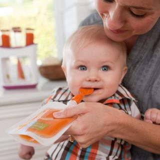 INFANTINO SET DVE KAŠIČICE ZA FLAŠICE ILI KESICE