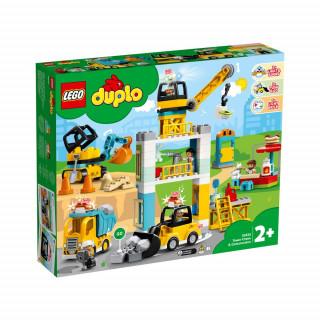 LEGO DUPLO TOWER CRANE   CONSTRUCTION