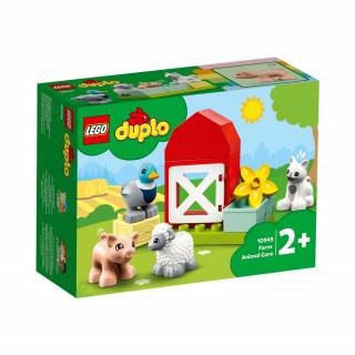 LEGO DUPLO TOWN FARM ANIMAL CARE
