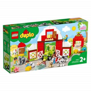 LEGO DUPLO TOWN BARN, TRACTOR & FARM ANIMAL CARE