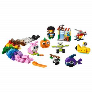 LEGO CLASSIC BRICKS AND EYES