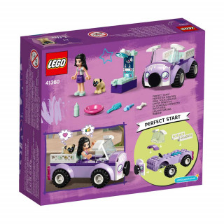LEGO FRIENDS EMMA S MOBILE VET CLINIC