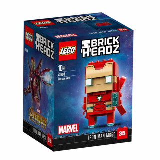 LEGO BRICK HEADZ IRON MAN