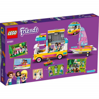 LEGO FRIENDS FOREST CAMPER VAN AND SAILBOAT