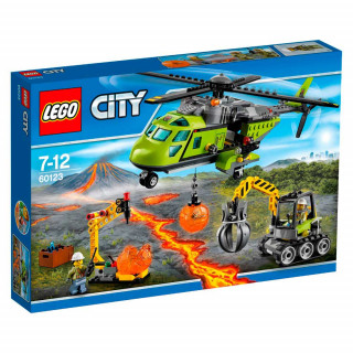 LEGO CITY VOLCANO SUPPLY HELICOPTER