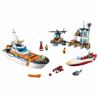 LEGO CITY COAST GUARD HEAD QUARTERS