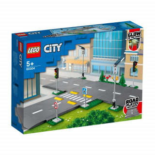 LEGO CITY ROAD PLATES