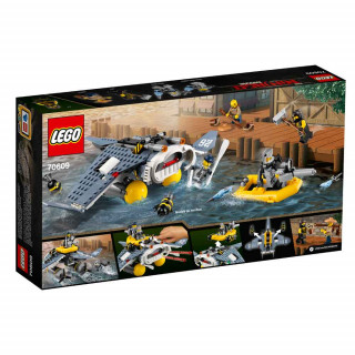 LEGO NINJAGO MOVIE MANTA RAY BOMBER