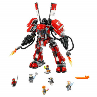 LEGO NINJAGO MOVIE FIRE MECH