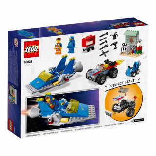 LEGO MOVIE EMMET AND BENNY S  BUILD AND