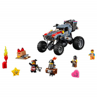 LEGO MOVIE EMMET AND LUCY S ESCAPE BUGGY