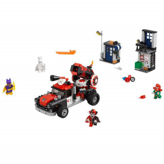 LEGO BATMAN MOVIE HARLEY QUINN CANNONBALL ATTACK