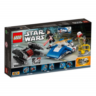 LEGO STAR WARS A-WING VS TIE SILENCER MICROFIGHTERS
