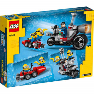 LEGO SPEED UNSTOPPABLE BIKE CHASE