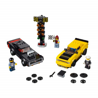 LEGO SPEED CHAMPIONS 2018 DODGE CHALLENGER SRT