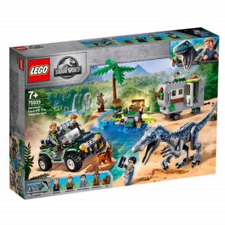 LEGO JURASSIC WORLD BARYONYX FACE OFF