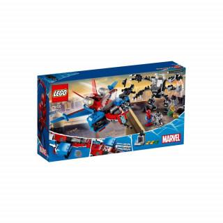 LEGO SUPER HEROES SPIDERJET VS VENOM MECH