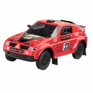REVELL MAKETA BUILD     PLAY  PAJERO RALLYE