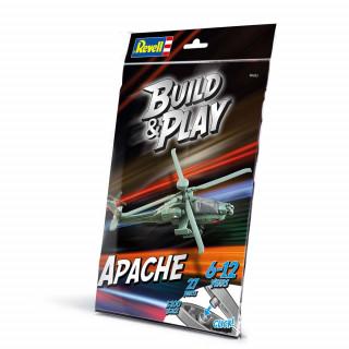 REVELL MAKETA BUILD  &  PLAY AE-64  APACHE